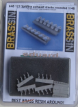 ED648121 1/48 Supermarine Spitfire - exhaust stacks rounded